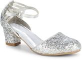 Kenneth Cole Girl's Metallic Sequin Sandals