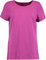 Yummie by Heather Thomson Adriana wrap-effect stretch-jersey T-shirt