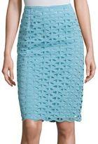 Escada Macrame Lace Skirt