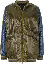 Herno reversible bomber jacket