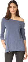 Wilt One Shoulder Slouchy Tunic Long Sleeve