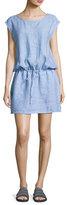 Soft Joie Lianna Linen Dress, Blue