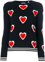 Chinti and Parker cashmere all over heart burst sweater - women - Cashmere - XS