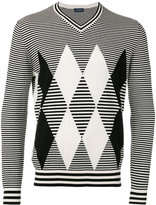 Ballantyne striped jumper - men - Cotton/Cashmere - 52