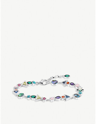 Thomas Sabo Paradise Colours sterling silver bracelet