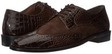 Stacy Adams Arturo Leather Sole Wingtip Oxford Men's Lace Up Wing Tip Shoes