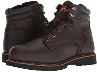 Thorogood V-Series Work Boot 6 Steel Toe (Brown) Men's Work Boots