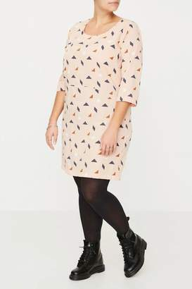 Junarose Dress Graphic Print