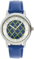 JCPenney FASHION WATCHES Womens Criss-Cross Dial Fashion Watch