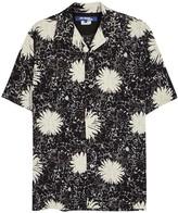 Junya Watanabe Man Floral-print Cupro Blend Shirt