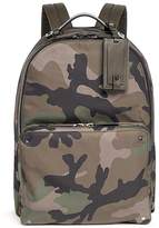 Valentino Rockstud camouflage print nylon backpack