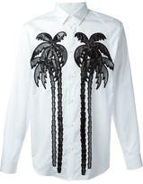 DSQUARED2 palm tree print shirt