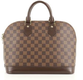 Louis Vuitton Vintage Alma Handbag Damier PM
