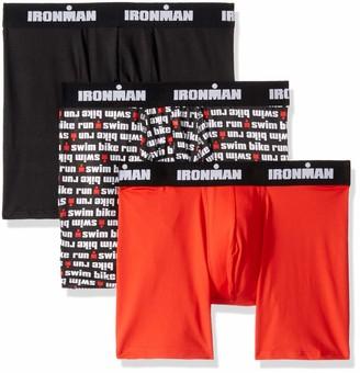 Iron Man IRONMAN Men's Multipack Performance Boxer Brief