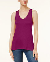 Kensie Tie-Back Tank Top