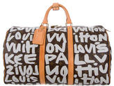 Louis Vuitton Graffiti Keepall 50