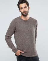 ONLY & SONS Knitted Flecked Crew Neck