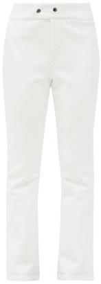 Bogner Emilia Flared Soft-shell Ski Trousers - White