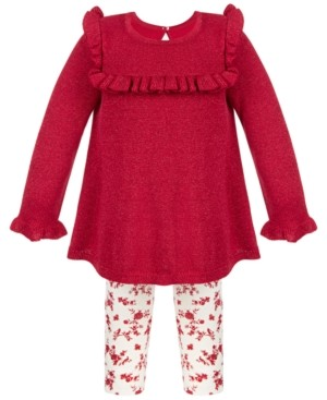 First Impressions Baby Girls Sweater Tunic Set, Created for Macy's