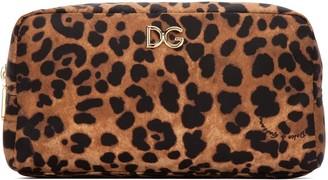 Dolce & Gabbana Leopard Cosmetic Bag