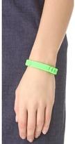 Marc by Marc Jacobs Rubber Standard Supply Bracelet