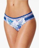 Becca Juliet Crochet-Trim Bikini Bottoms