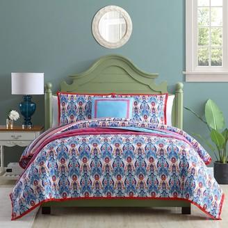 VCNY Home Cottage Cove Nikki Reversible Floral Comforter Set