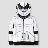 Star Wars Toddler Boy's Stormtrooper Costume Hoodie - White