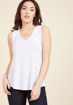 Endless Possibilities Tank Top in White in L
