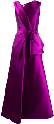 Alberta Ferretti sleeveless A-line gown