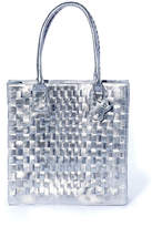 Rebel With Cause Silver Braided Bag