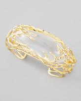 Alexis Bittar Ophelia Vine Cuff Bracelet, Clear