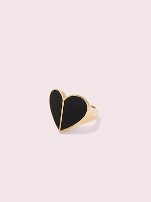 Kate Spade Heritage Spade Enamel Heart Ring