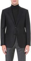 Armani Collezioni Herringbone cashmere jacket