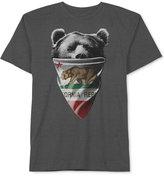 JEM Men's California Republic Bear Bandit T-Shirt