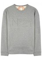 No.21 Grey Logo Sweatshirt