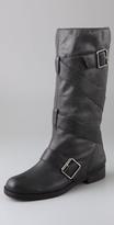 Rona Wrap Strap Flat Boots