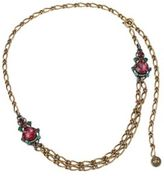 Lanvin Crystal Chain Necklace