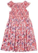 Elephantito Floral Print Smocked Dress