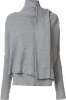 Edun draped wrap sweater