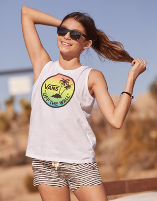 Vans Dual Palm Gradient Girls Tank