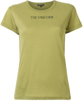 Ann Demeulemeester logo-print T-shirt