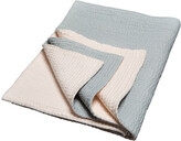 Thumbnail for your product : Niki Jones - Voile Kantha Bedspread - Plummet & Nude