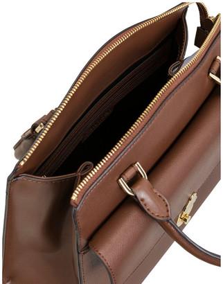 Calvin Klein H9GDRFT1_WAL Lock Double Handle Satchel