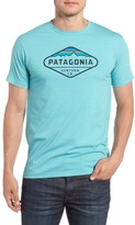 Patagonia Men's 'Fitz Roy Crest' Slim Fit Organic Cotton Blend T-Shirt