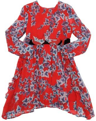 Philosophy di Lorenzo Serafini Flower Print Viscose Georgette Dress