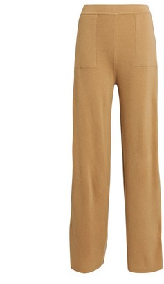 Intermix Willow Wool-Cashmere Knit Pants