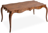 Theodore Alexander Keno Bros. For Fine Point Coffee Table - Brown