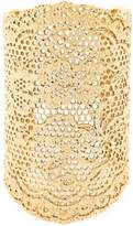 Aurelie Bidermann large 'Vintage Lace' cuff