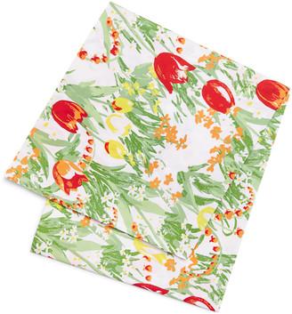 Tory Burch Home Garden Tablecloth